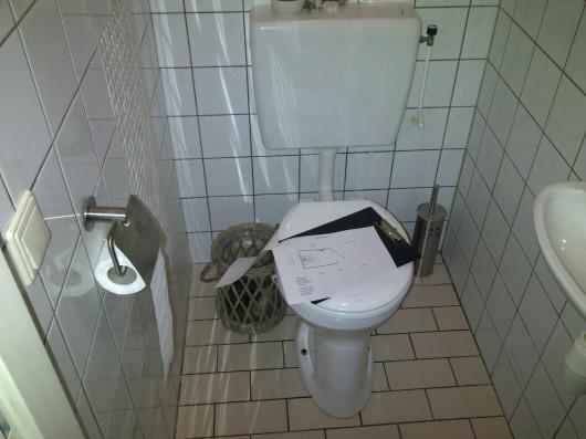 Toilet Oude situatie