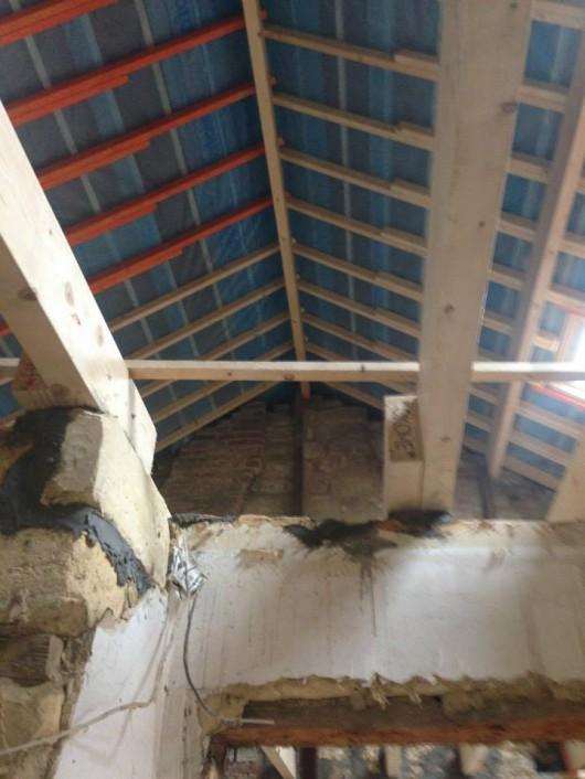 Zolder woonhuis oude situatie
