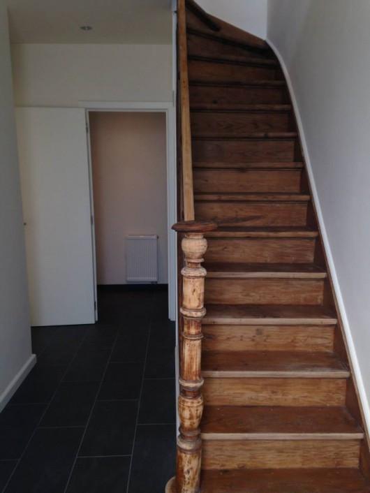 Originele trap begane grond in woonhuis