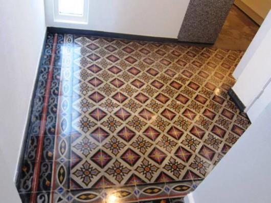 Antieke vloer appartement