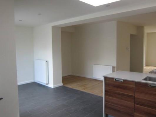 Woonhuis keuken overloop woonkamer