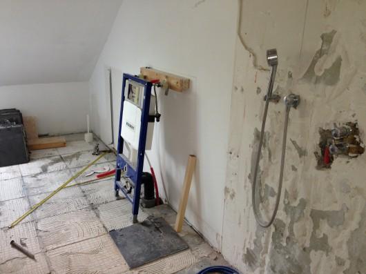 Badkamer renovatie 1